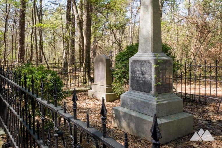 Hike from Cochran Shoals to Sope Creek in Atlanta, exploring an old historic cemetery near the Chattahoochee River