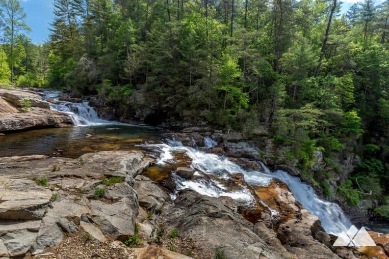 Hike the Jacks River Trail and Beech Bottom Trail to the gorgeous waterfalls at Jacks River Falls