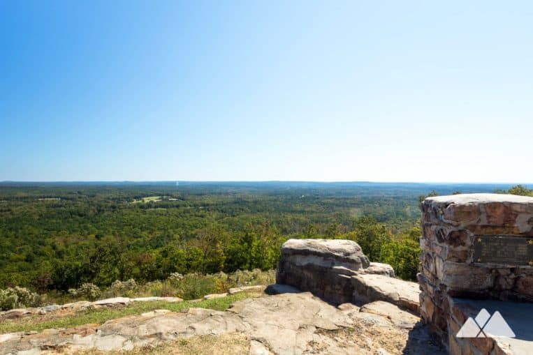 Dowdell's Knob Loop: hike to stunning views at FDR State Park in Georgia