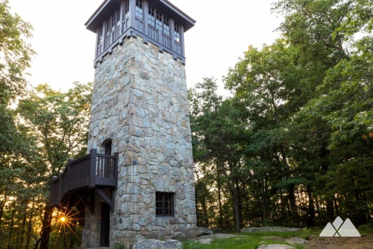 Fort Mountain State Park: hike to a historic fire lookout tower and stunning North Georgia views