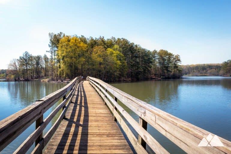 Fort Yargo State Park Lake Trail