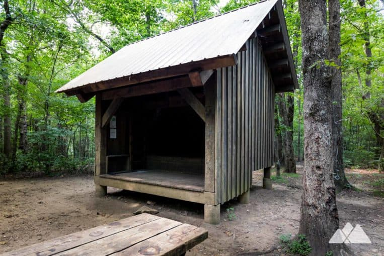 Hawk Mountain Shelter on the Appalachian Trail