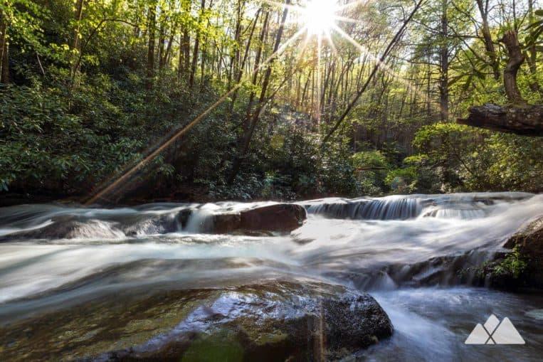 Hemlock Falls Trail on Moccasin Creek
