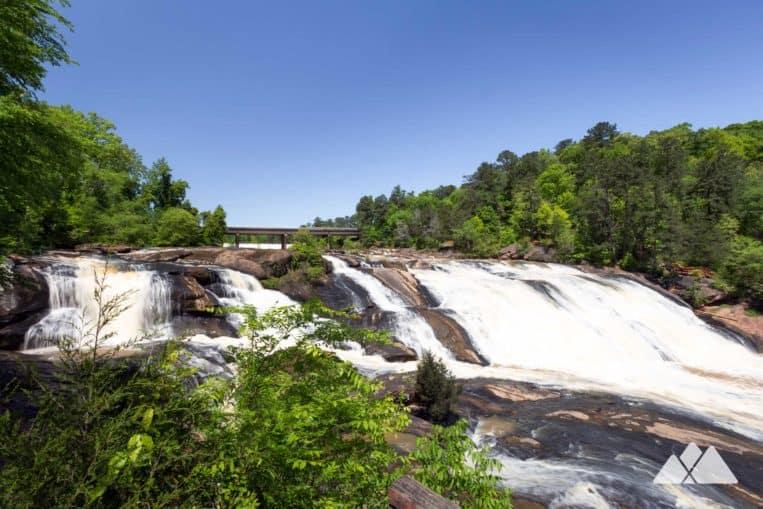 High Falls State Park: hike the Historic Trail to stunning waterfall views near Macon, GA