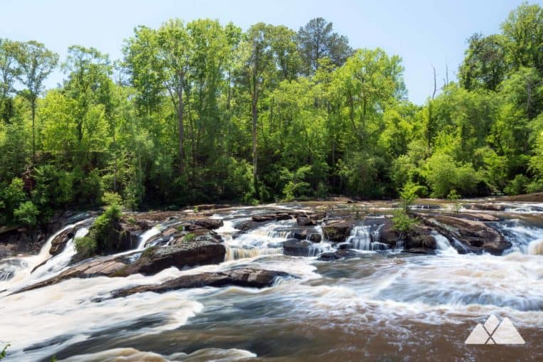 High Falls State Park: hike to stunning waterfall views near Macon, GA