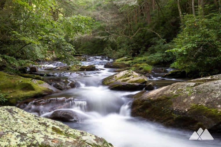 Jacks River Trail: hike the Cohutta Wilderness to beautiful waterfalls in a remote, rocky forest