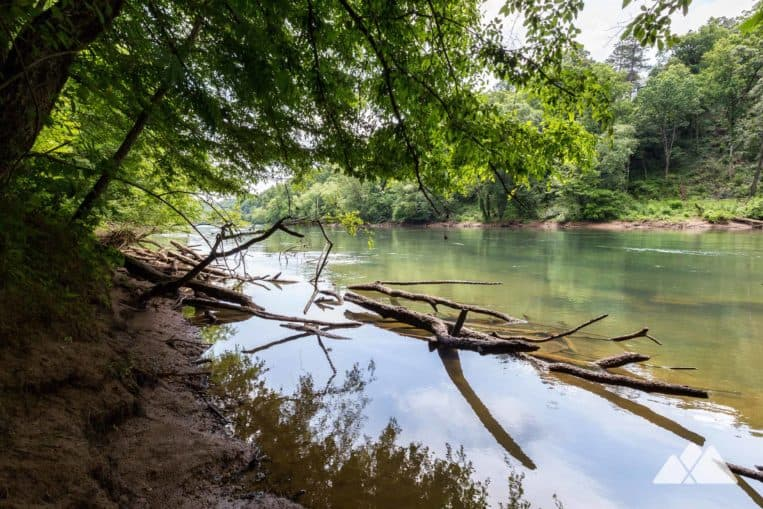 Johnson Ferry Trail: to beautiful views of the Chattahoochee River in metro Atlanta