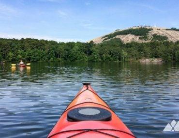 Kayaking Stone Mountain Lake