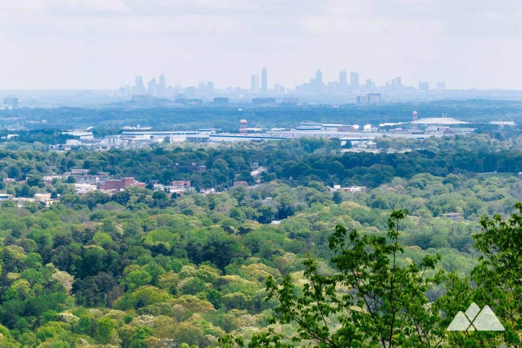 Hike the Kennesaw Mountain Trail through a beautiful wildlife filled forest just north of Atlanta, GA