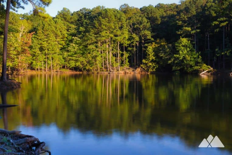 Red Top Mountain State Park: hike, run or bike the Iron Hill Loop Trail to beautiful views of Lake Allatoona