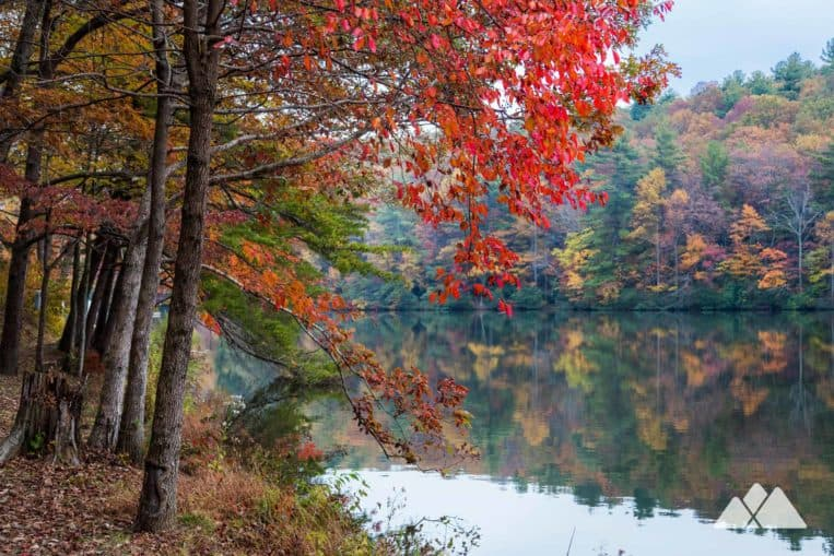 Fort Mountain State Park Lake Trail: top kid-friendly hikes in North Georgia