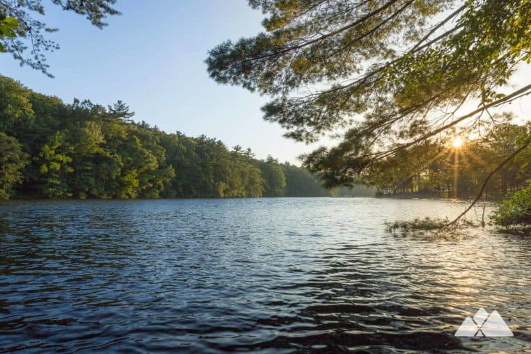 Fort Mountain State Park: hike around a scenic mountaintop lake on the Lake Trail