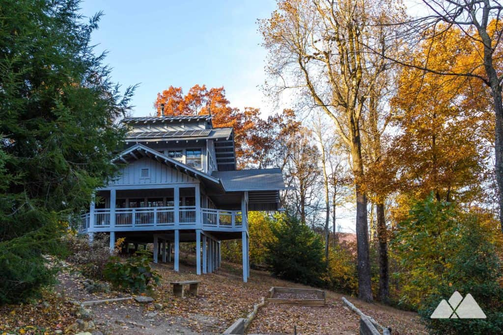 Stay at the Len Foote Hike Inn, an eco-friendly backcountry inn between Amicalola Falls and Springer Mountain