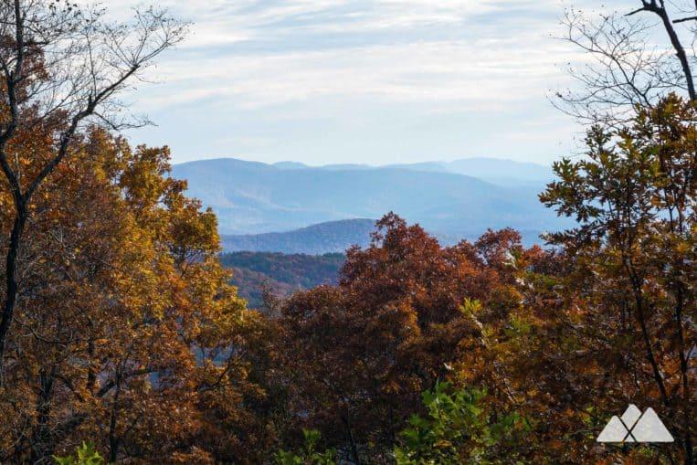 Len Foote Hike Inn Trail: hike to North Georgia's backcountry inn