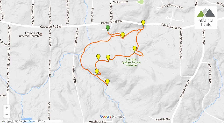 Cascade Springs Nature Preserve Trail