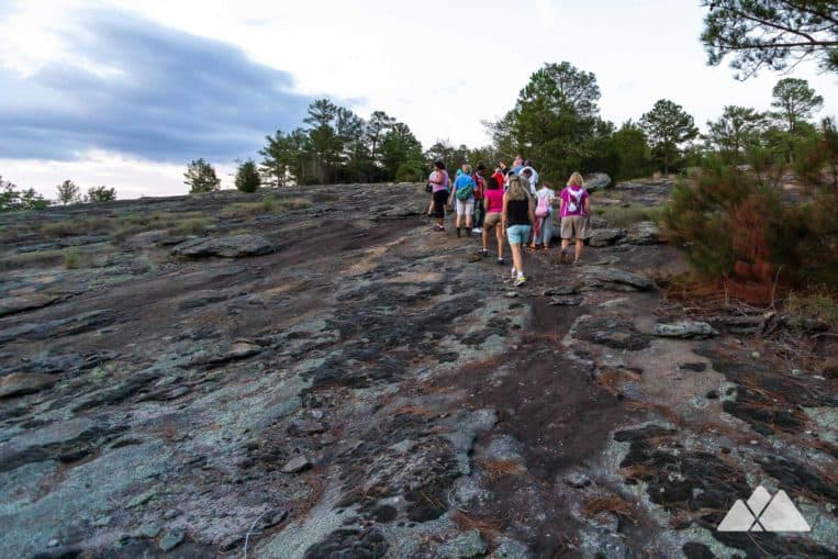 Panola Mountain State Park guided twilight hikes: explore the usually-off-limits summit of one of Atlanta's mountains