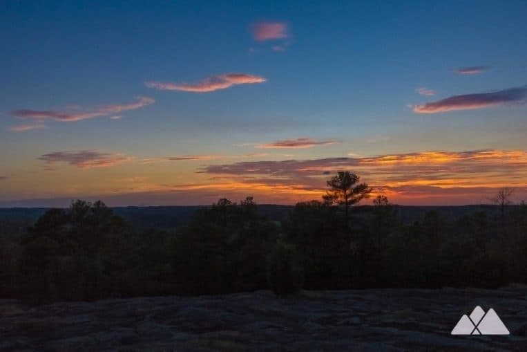 Panola Mountain State Park: take a guided sunset hike to the mountain's summit