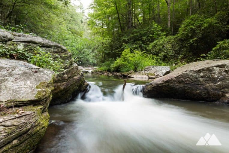 Panther Creek Trail: hike through a lush creek valley from Yonah Dam to one of Georgia's most popular waterfalls