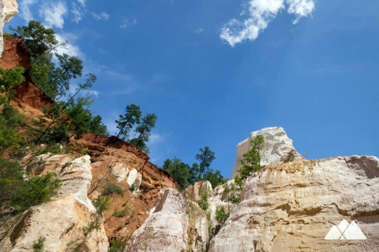 Providence Canyon State Park: hike through colorful canyons in southwest Georgia