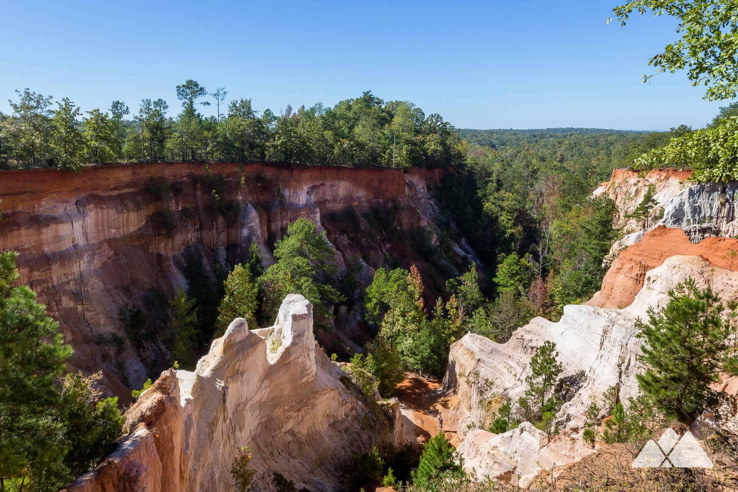 Providence Canyon State Park - Atlanta Trails