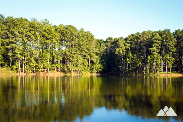 Red Top Mountain Homestead Trail: hike to stunning views of Lake Allatoona just north of Atlanta