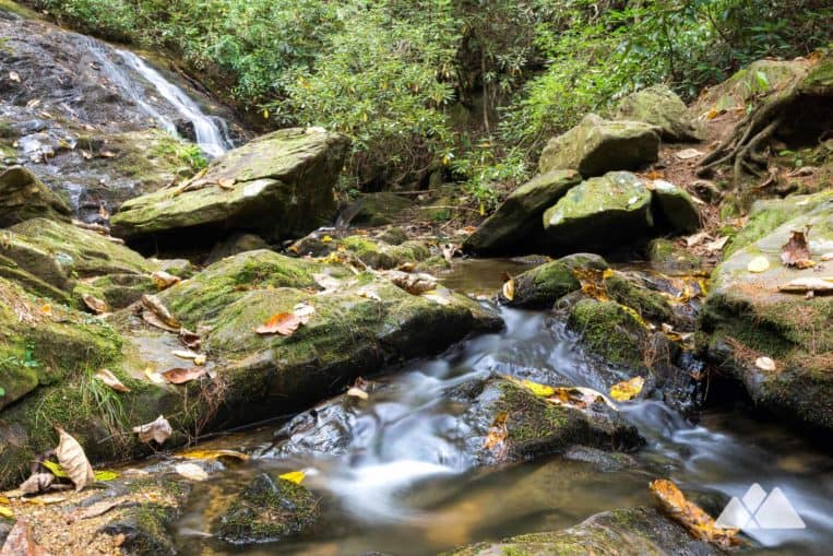 Smithgall Woods State Park: hike the Cathy Ellis Trail to Chunanee Falls, a tumbling waterfall in a beautiful North Georgia forest