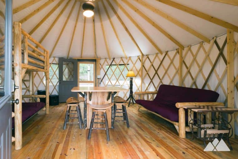 Sweetwater Creek State Park: yurt camping review