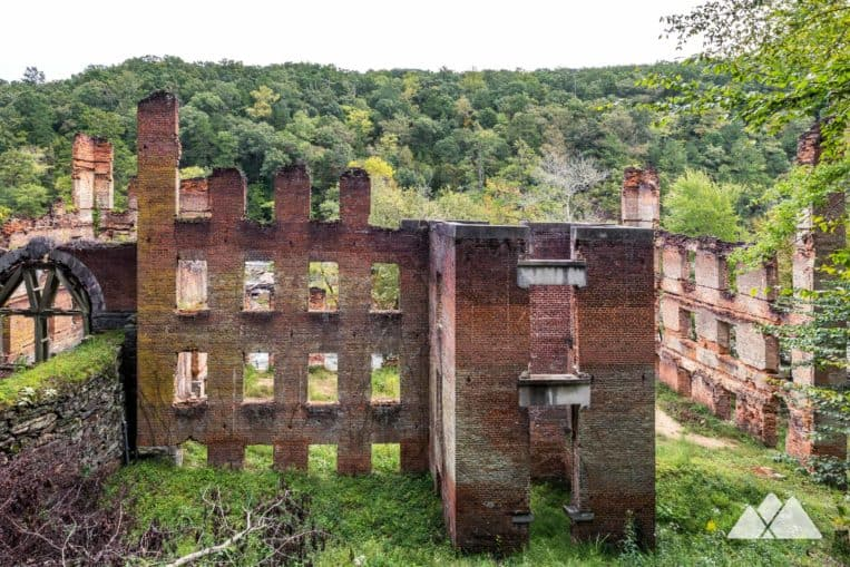 Sweetwater Creek State Park: hike to Civil War mill ruins near Atlanta, a filming location for The Hunger Games