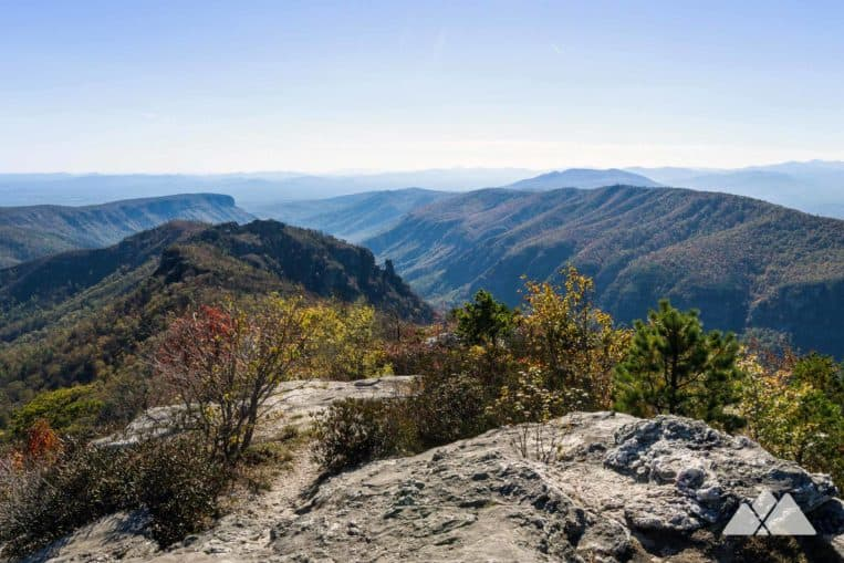 Hike to the view-packed summit of Table Rock Mountain in North Carolina's Linville Gorge Wilderness