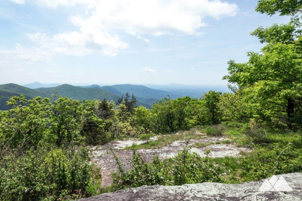 Tesnatee Gap: Appalachian Trail to Cowrock Mountain