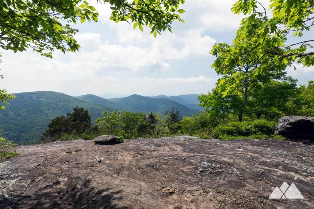 Hike the Appalachian Trail at Tensatee Gap to stunning North Georgia views on the summit of Cowrock Mountain