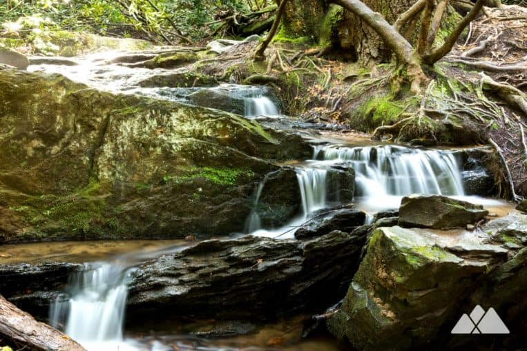 Toccoa River: hike the Benton MacKaye Trail to a small waterfall on the banks of the Toccoa River