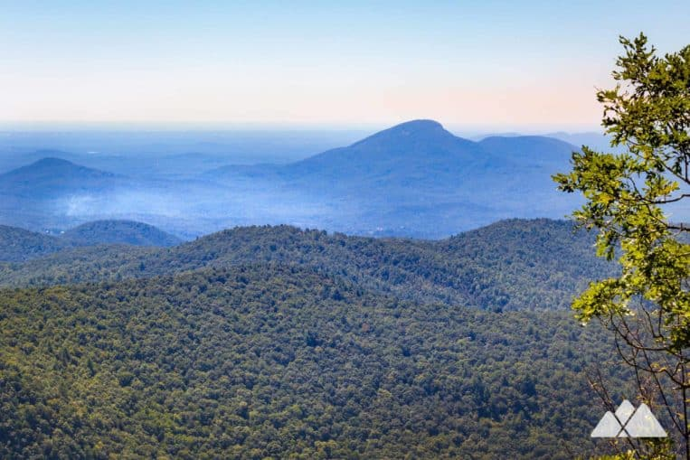Unicoi Gap: hike the Appalachian Trail to stunning Yonah Mountain views from Rocky Mountain in North Georgia