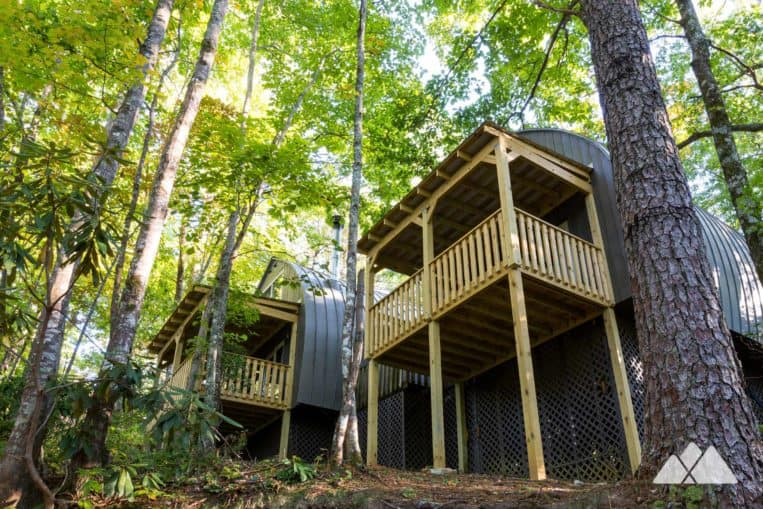 Unicoi State Park Cabins: our review of the park's retro-cool, newly renovated barrel cabins