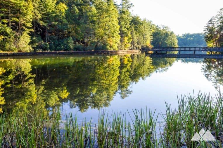 Unicoi Lake in North Georgia