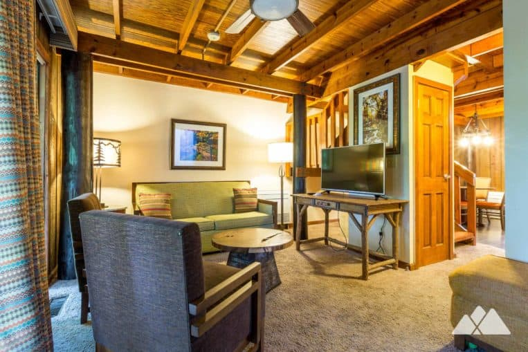 Unicoi State Park Cabins: the park's retro barrel cabins are comfy and cozy, with views of Unicoi Lake