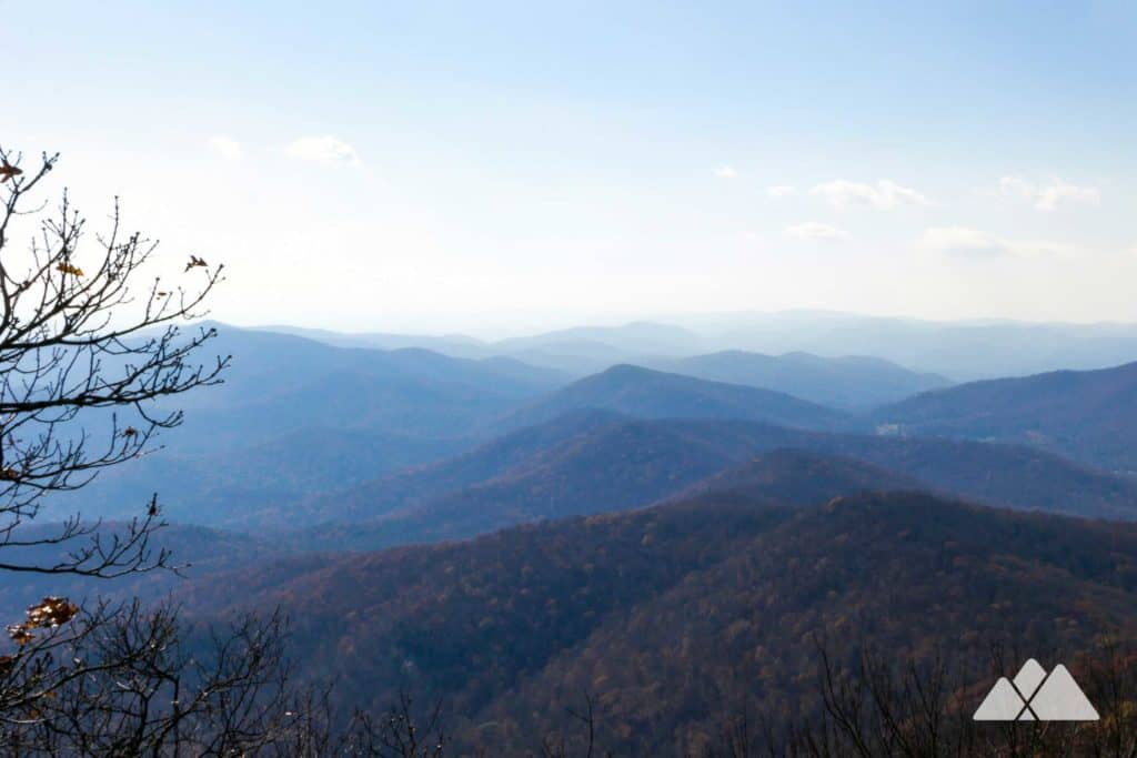 Vogel State Park: Coosa Backcountry Trail to Blood Mountain