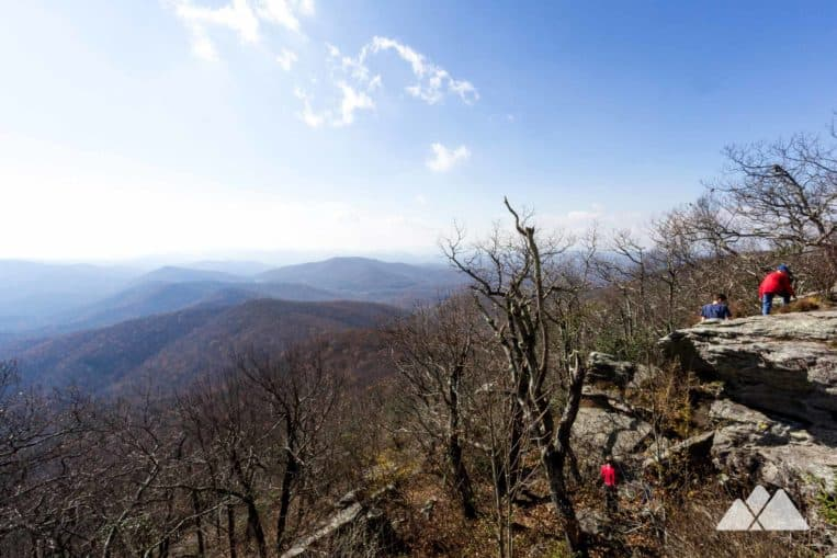 Vogel State Park: hike to Blood Mountain, catching stunning views from the highest summit on the Appalachian Trail in Georgia