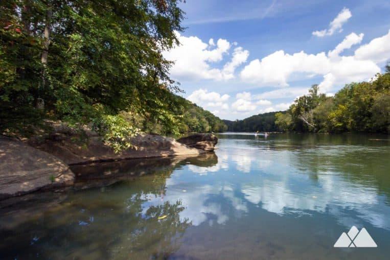 West Palisades Trail: top hikes on the Chattahoochee River near Atlanta