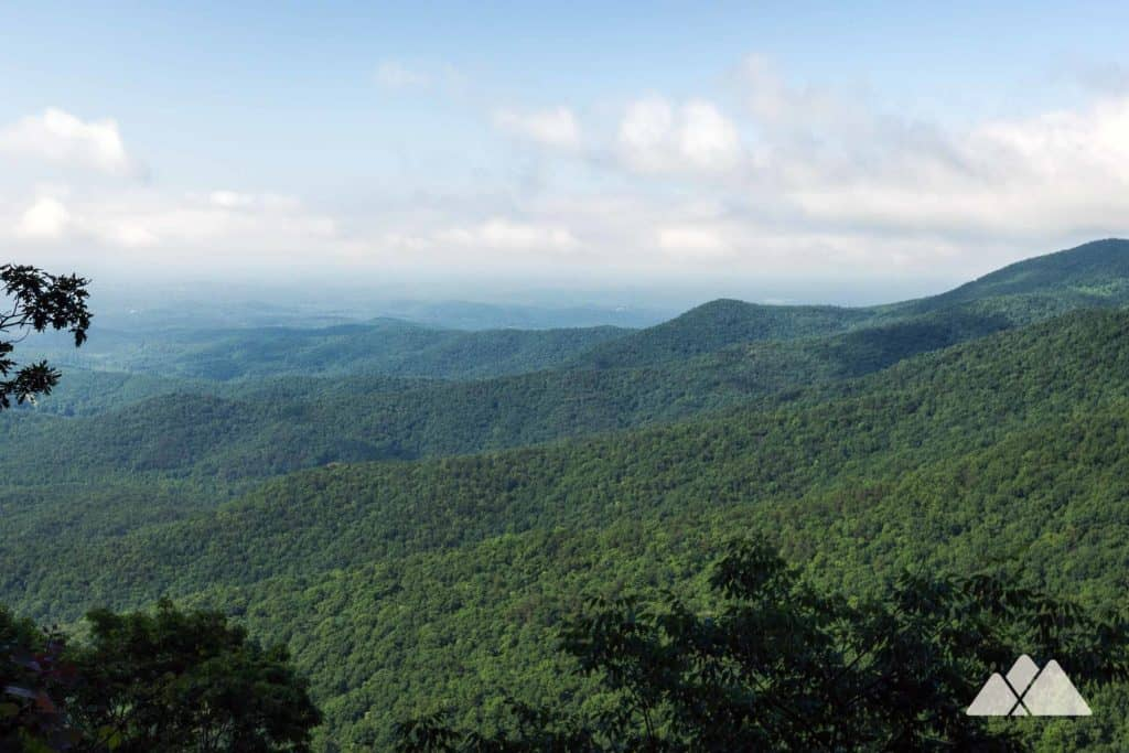 Appalachian Trail: Woody Gap to Ramrock Mountain and the Gooch Mountain Shelter