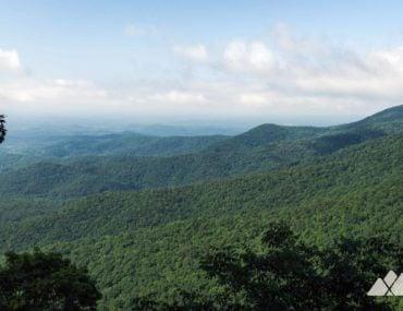 Appalachian Trail: Woody Gap to Ramrock Mountain and the Gooch Mountain Shelter