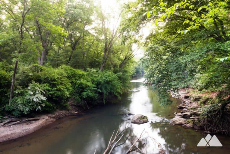 Yellow River Park: hike the scenic banks of a meandering river just east of Atlanta, GA