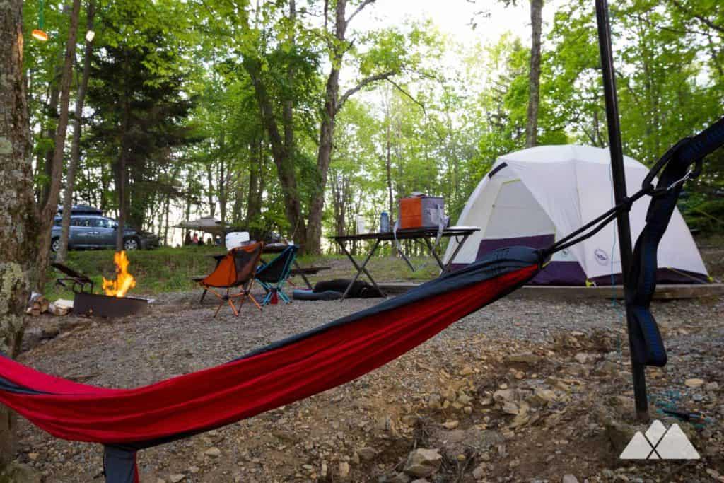 camping gear list atlanta trails