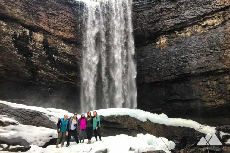 Girls Who Hike Georgia hiking group at Lula Lake Land Trust