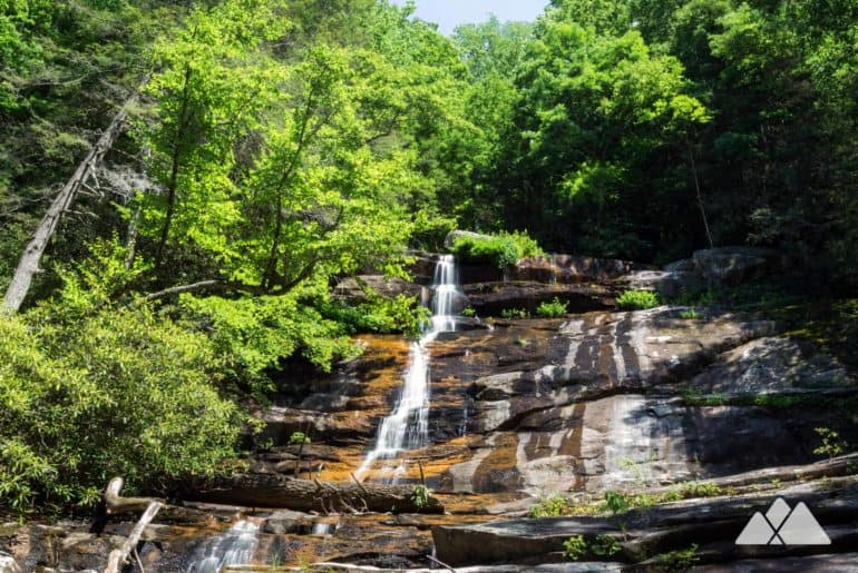 Panther Creek Falls in the Cohutta Wilderness of North Georgia