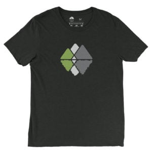 Atlanta Trails Mountain Reflections Shirt Charcoal