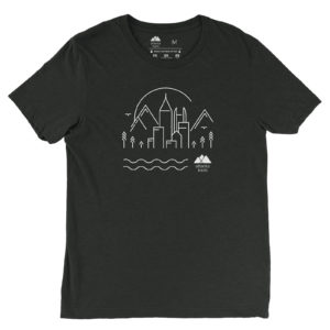 Atlanta Trails Skyline Shirt Charcoal