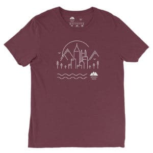 Atlanta Trails Skyline Shirt Teal