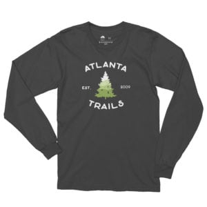Atlanta Trails Southern Pine Long Sleeve Shirt in Slate