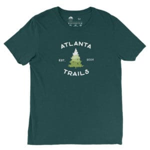 Atlanta Trails Southern Pine Shirt in Hemlock Green